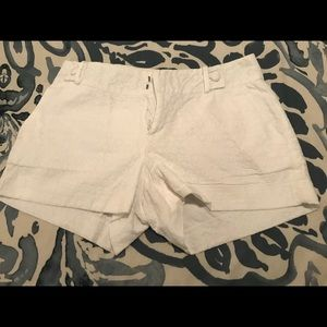 Banana Republic White Shorts